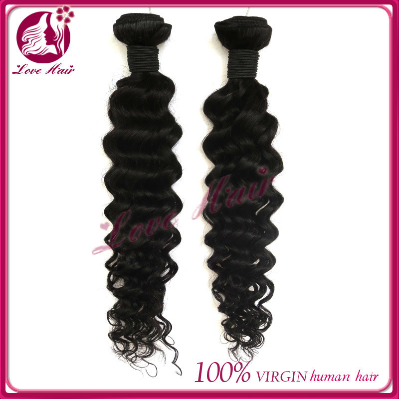 Never Tangle & No Shedding Natural Color Virgin Human Hair 4inch human hair weave extensions