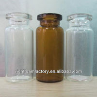 10ml Moulded Injection glass vial for Antibiotics
