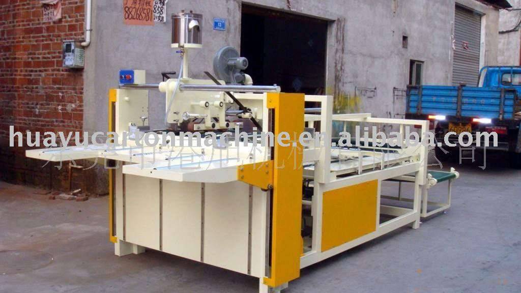 AJD type of Semi-automatic carton gluer machine