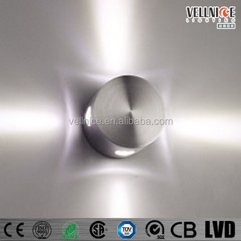 Pure aluminium 4w led indoor wall light 4 directions indoor wall pure aluminium 4w led indoor wall light 4 directions indoor wall lighting w3a0006 aloadofball Image collections