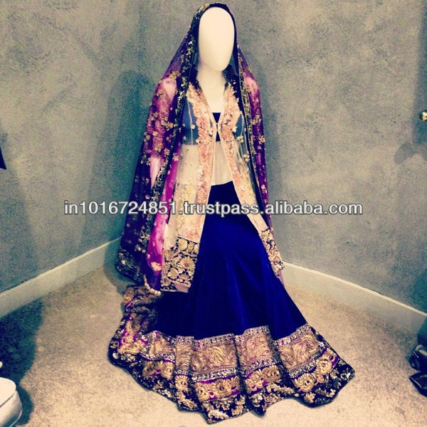 latest indian bridal lehnga