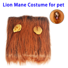 Lion's Mane Costume Hat For Dog Cat in Party