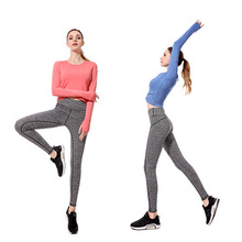 Dropshipping latest design <strong>sport</strong> fitted tracksuit slim fit women yoga pants factory