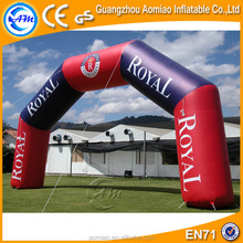 Cheap PVC inflatable archway, inflatable gate door, inflatable arch advertising