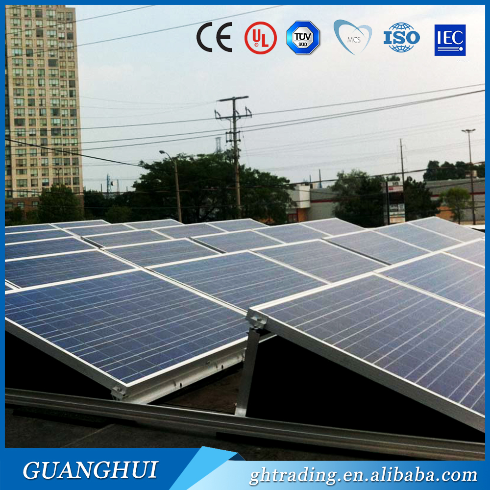 cheap cost 230wp 24v solar modules 230 watt poly pv solar panels roof 96 cells in stock price with ce tuv certificate