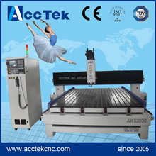 AKS2030 Germany control system SIEMENS good quality china cnc router for stone marble