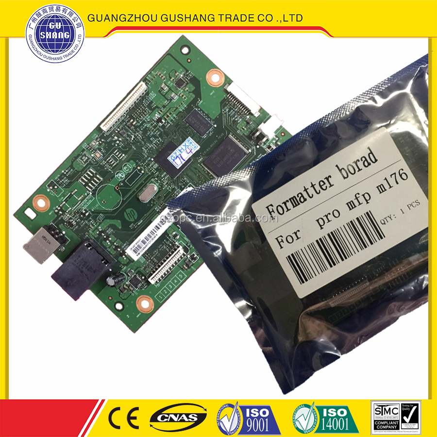 Refurbished for HP LaserJet Pro mfp m176 Formatter Board/main logic borad for Laser printer parts made in china