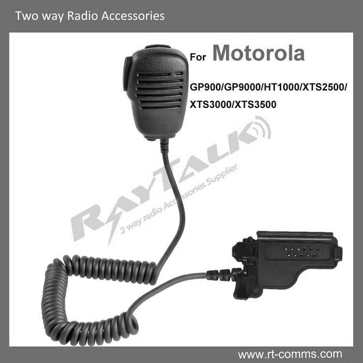 Compact Light Weight lapel speaker microphone for Motorola XTS2500 XTS3000 XTS3500