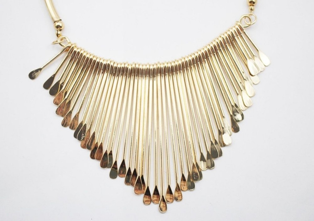 New Arrival Year Gift 316L Stainless Steel Fashion Silver Gold Tassel Necklace for women Wife Girlfriend