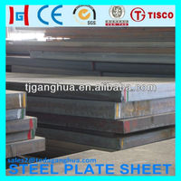 High manganese wear resistant steel plate X120Mn12 A128 from Baosteel