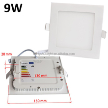 Top Seller 9W Wholesale Manufacturer Recessed Led Downlight 3W 6W 12W 15W 18W 24W Ultra Slim Led Ceiling Panel Light From China