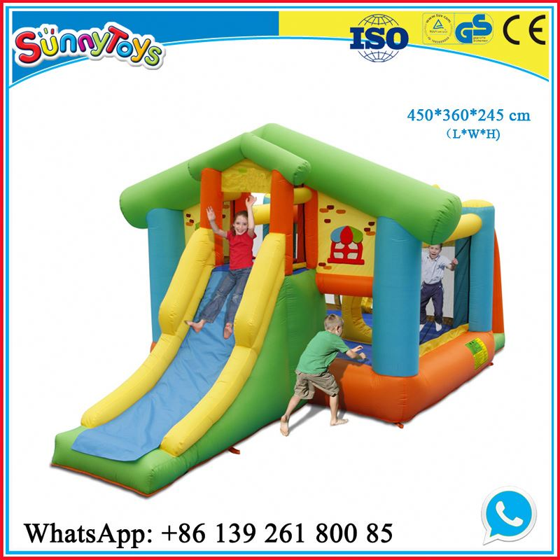 Kids inflatable bounce castle for sale commercial inflatable dora and boots bouncing castle