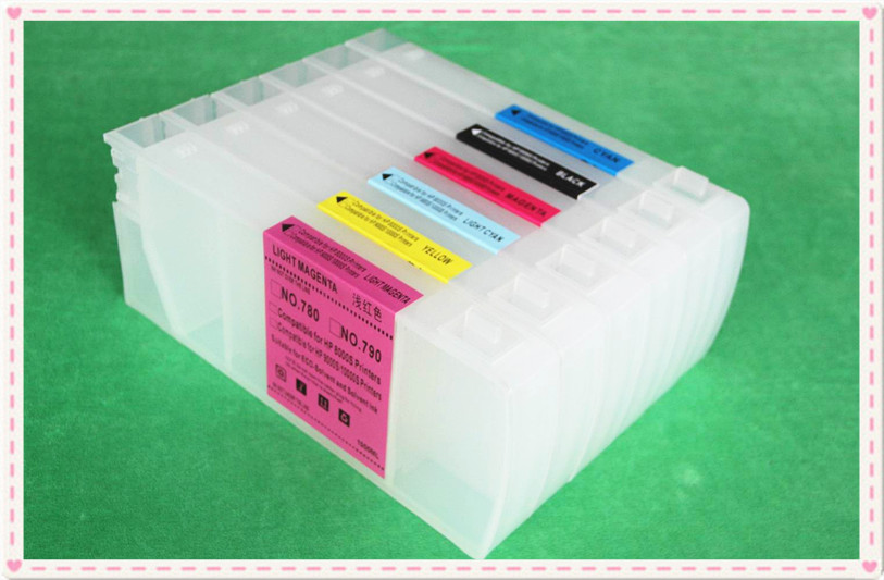 Good Quotation For HP Designjet 8000 8000s 8000sr Refill Ink Cartridge With Original Chip
