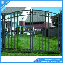 Metal modern gates design and fences / New design metal galvanzied fencing gate