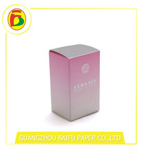 Custom size and logo full color box packaging for perfume packing