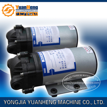 DC Water Pump, diaphragm structure, 12v, 24v power supply, high pressure