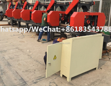 Horizontal Bandsaw Automatic Wood Band Saw Machine
