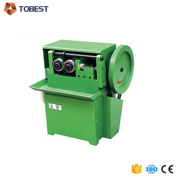automatic m4 threaded tube making machine TOBEST thread machine