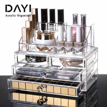 Yoler Transparent Acrylic Cosmetic Makeup Organizer With Drawers