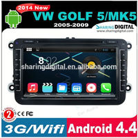 Android 4.4 for Vw dvd 2 din autoradio VWM-8401GDA