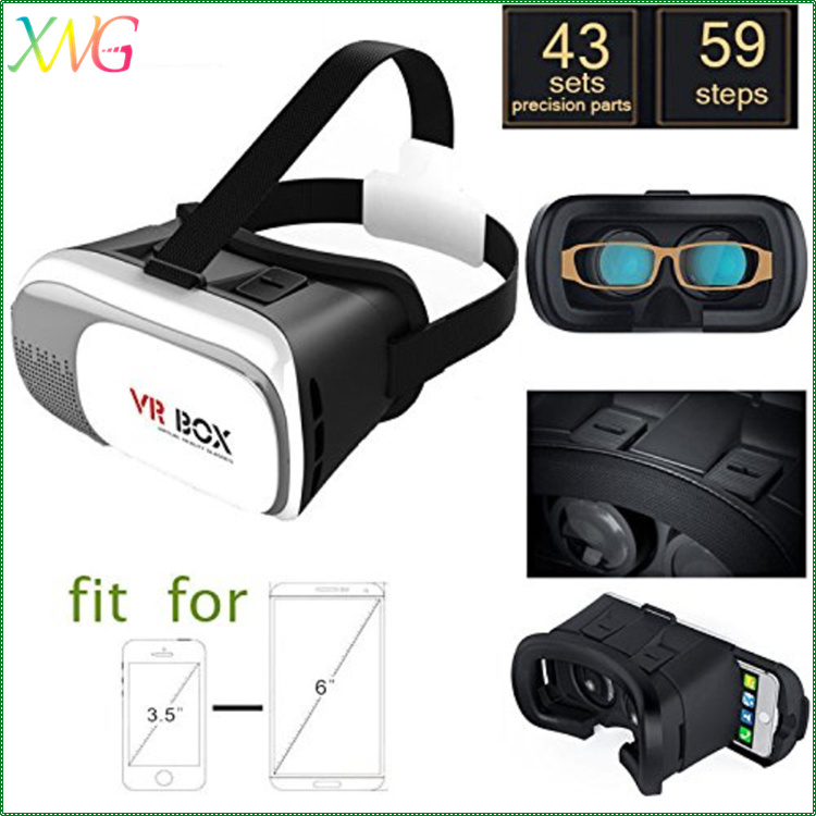 3d Virtual Reality vr glass 2.0 Version with Bluetooth Remote Controller