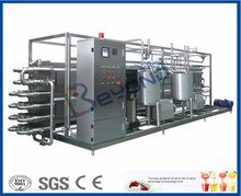Pasteurizer for milk