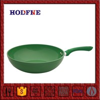 Home Kitchen Cooking Non-stick Polychrome with Handle Cast Iron Grill Pan Round Baking Plate