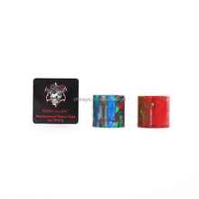 Epoxy tank 2017 wholesale Demon killer replacement resin tube for TFV12 drip tip fit for e-cigarette RDA/RTA atomizer