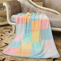 Manufacturer customized air conditioner flannel blanket