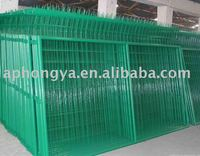 galvanized metal fence/pvc metal fence/garden fence
