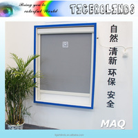 europe style windproof and waterproof outdoor motorized roller blinds