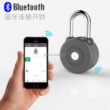 Bluetooth Smart Padlock for iOS Devices Androit Keyless Electronics Lock Black