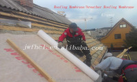 Building CHEEP KINGWAY waterproof roofing material of 3 layer materials inclined roof