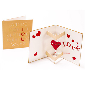 3d Pop Up Card Mothers Day Postcards Love Mom Gifts Thank You Greeting Cards with Best Wishes
