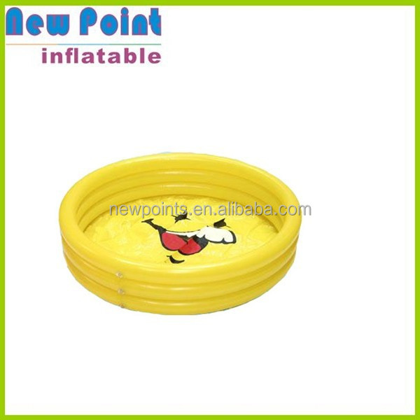 Mini yellow inflatable swimming pool toys , inflatable swimming pools ,inflatable pool toy