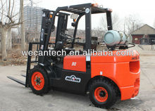 LPG Gasoline Power Souce and New Condition automatic forklift with container lifting mast