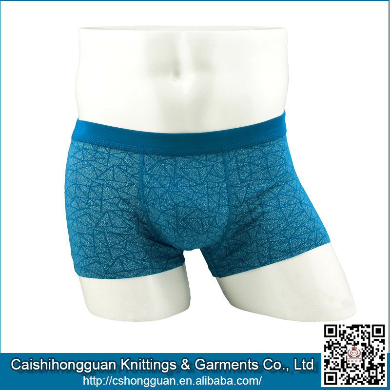 Suerhuai Knitting Underwear Co Ltd : Mature men best boxer briefs underwear view