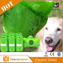 Dog Waste Bags with Dispenser and Leash Clip