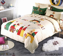 Crayon drawing children bedding sets cartoon student bedding sets