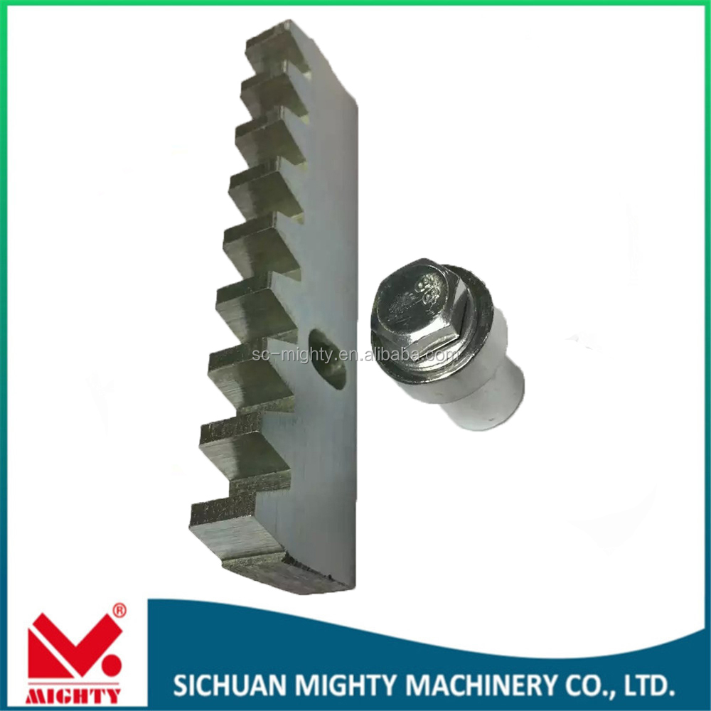 Nylon gear for sliding door m1-m20 steel stainless steel rack and pinion with aluminum gear rack