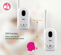 1300m long communication range baby phone cheap price VOX function