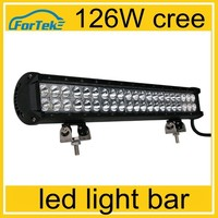 2015 new 20inch 126W CREE LED Work Light Bar Combo Offroad Driving Lamp whole sale