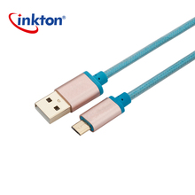 Guangzhou original good quality 1M white color android charging data cable for samsung