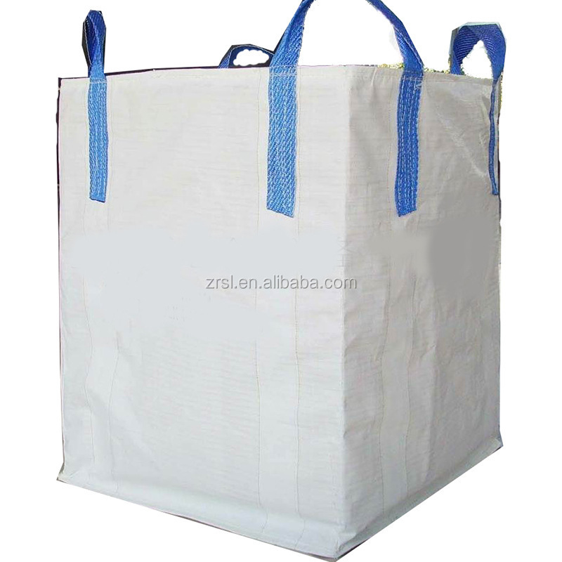 Chinese factory pp jumbo bag/super sack/big bag,fibc bag 1500kg , any color chosen,uv treated ZR12