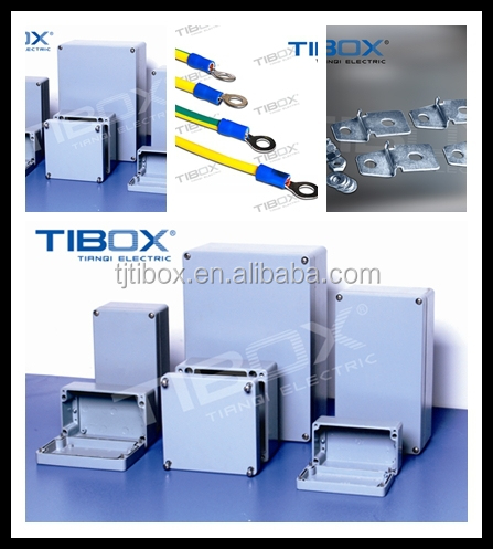 High quality, beautiful waterproof extruded aluminum electronic enclosure, TIBOX