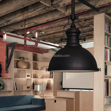 Industrial semispherical loft pendant light for restaurant/coffee shop/bar design lighting best selling products in America