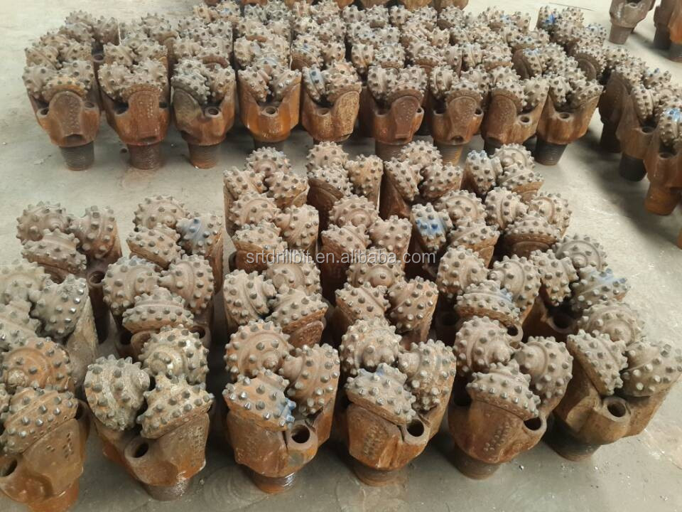 200mm used oilfield rotary drill tricone bit for well