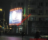 alibaba gold supplier supply video AD P16 led sign panels