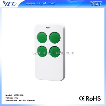 YET2110 new design rolling code remote control duplicator 433.92mhz