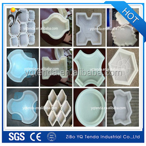 Customization available rubber plastic paving block moulds